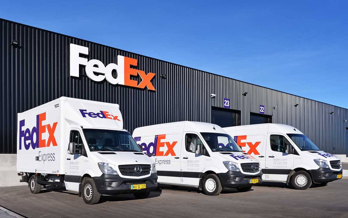 Fedex decals and model truck transfers
