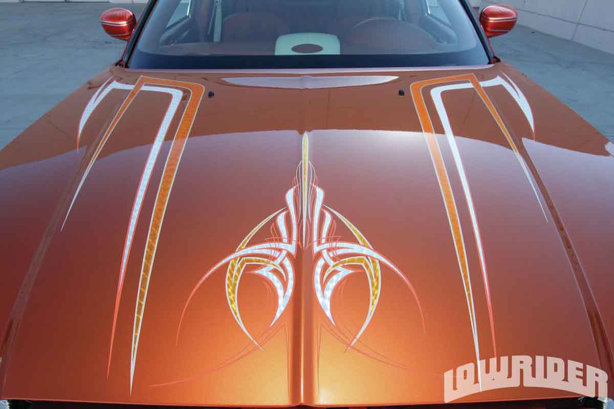 Lowrider PINSTRIPES - Pinstriping decals for all scale model cars