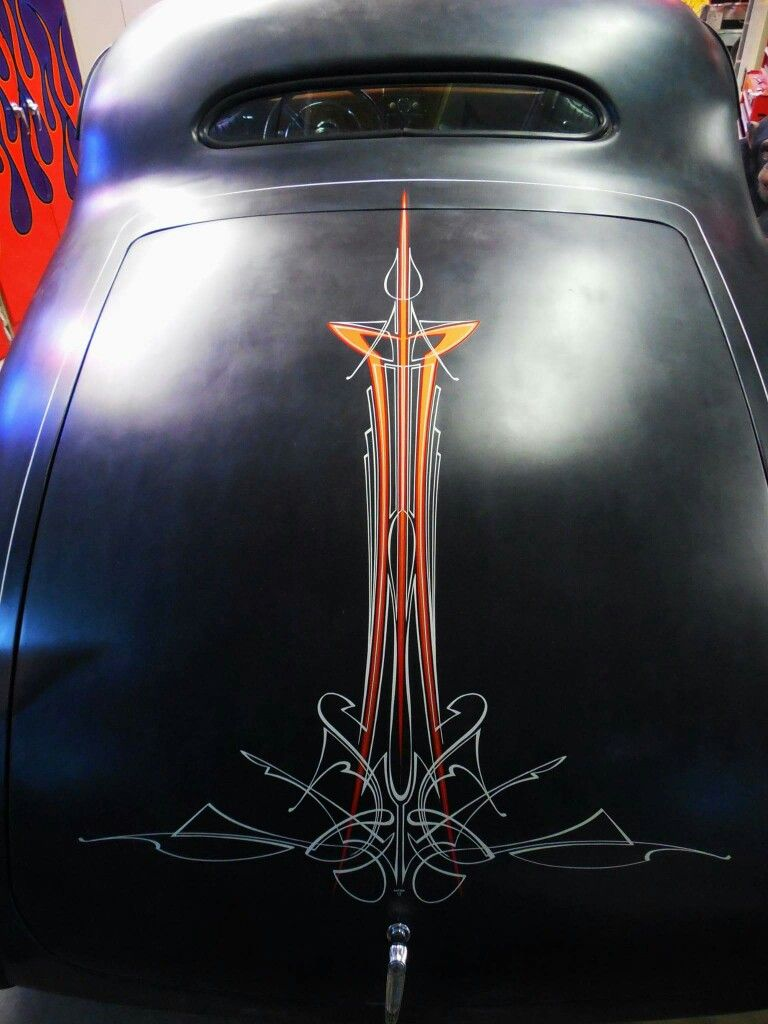 Lowrider Pinstriping decals for all scale model cars
