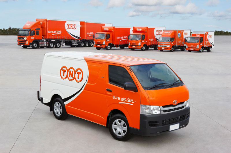 TNT Courier Service Decals and Transfers for Model Cars