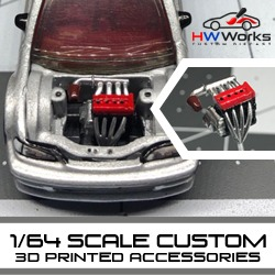 1:64 scale engines and parts for your next build