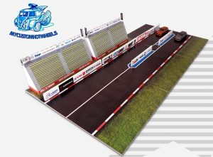 Drag Strip - racing diorama for Hot Wheels Diecast Cars