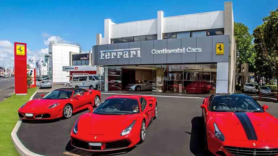 Ferrari Dealership Showroom Diorama for Hot Wheels and Diecast Cars