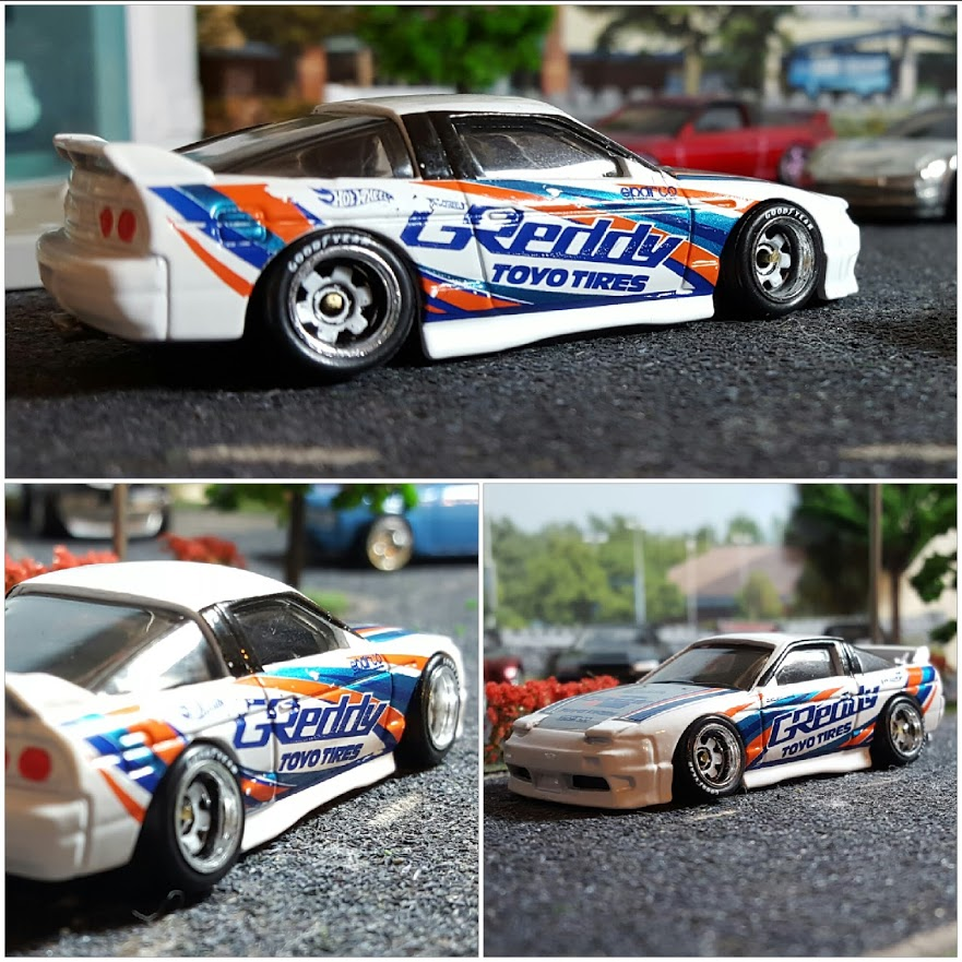 Greddy decals and racing transfers for Hot Wheels and Model Cars