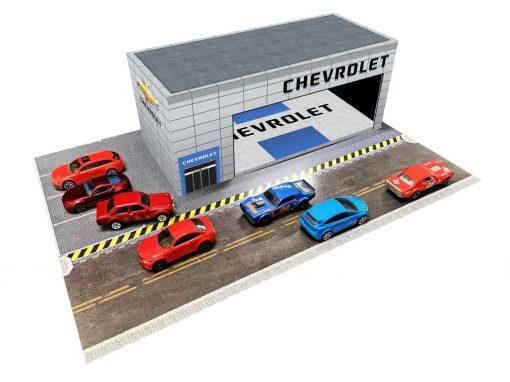 Chevrolet Showroom Dealership diorama