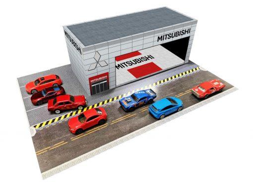 Mitsubishi Showroom Dealership diorama