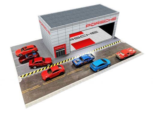 Porsche Showroom Dealership diorama