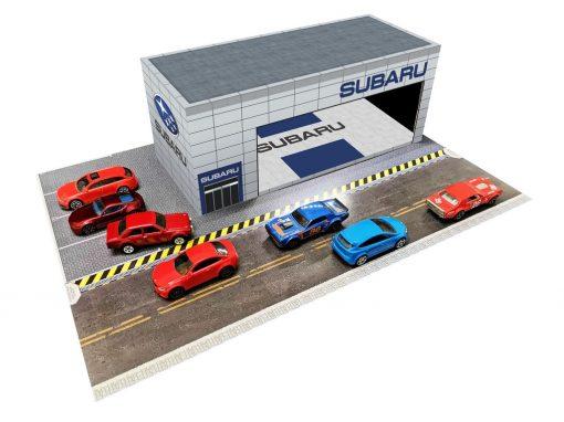 Subaru Showroom Dealership diorama