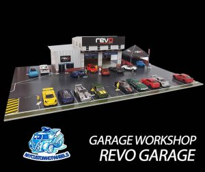 Revo Garage Workshop Diorama