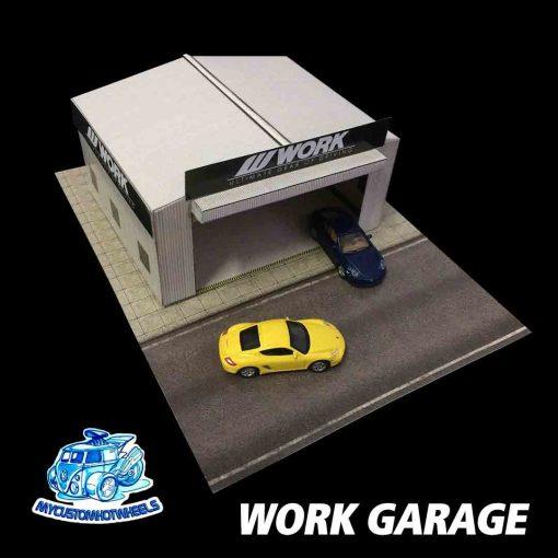 WORK Garage Workshop Diorama in 1:64 scale