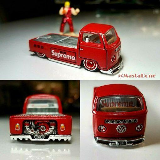 Supreme Custom Hot Wheels by Mastadone