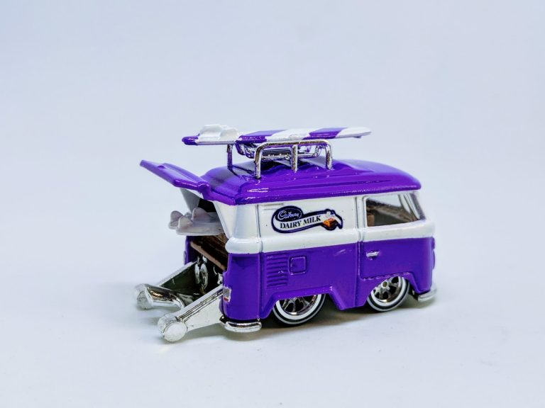 Cadbury Decals on Kool Kombi Custom