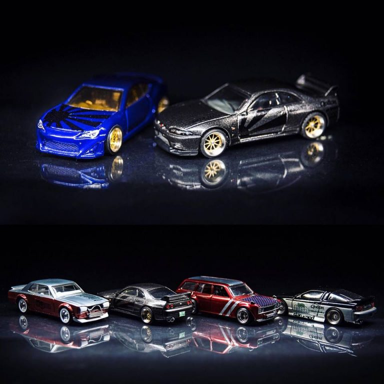 JDM Decals for Hot Wheels Model Cars