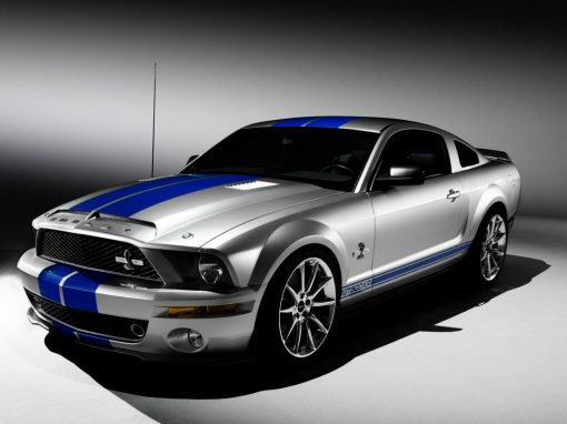 Ford Mustang GT500 Racing Decals