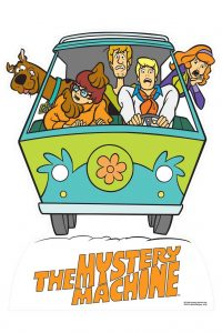 mystery machine decals for Hot Wheels