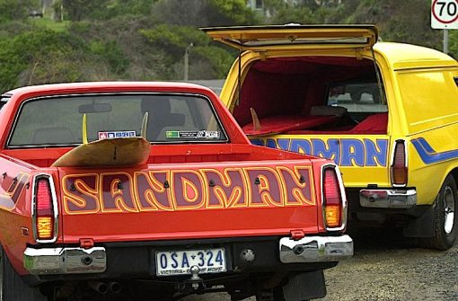 australian themed decals for model cars