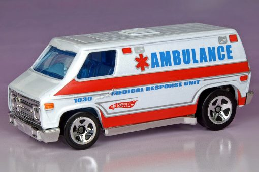 ambulance decals for Hot Wheels