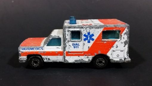 EMT & Ambulance decals for 1:64 hot wheels diecast cars