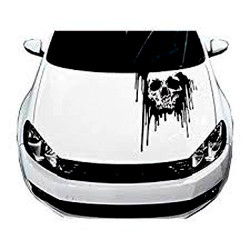 skull sticker for model cars