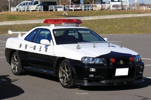 NIssan GTR R34 Japanese Police car