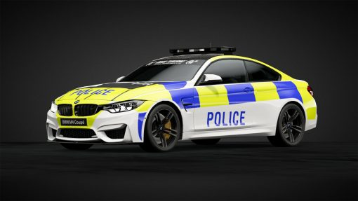 UK Police decals for model cars