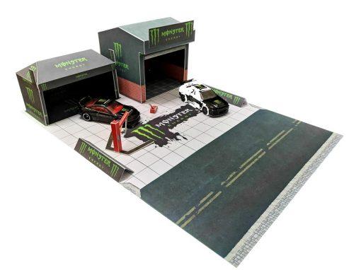 Monster Energy Race Canopy Diorama V2