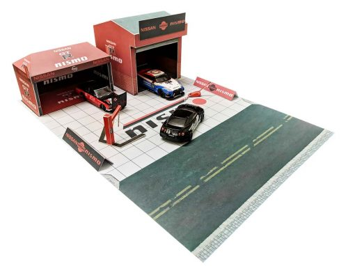 nismo race canopy diorama for Hot Wheels