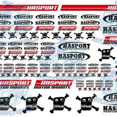 hasport decals for 1:32 scale model cars