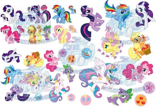 my little pony decals for 1:24 scale models